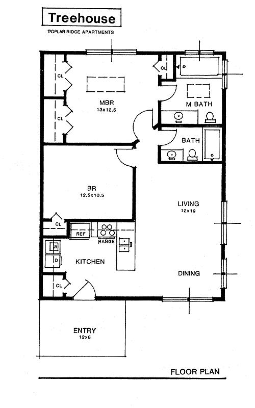 floor treehousejpg - Treehouse Plans 12x8